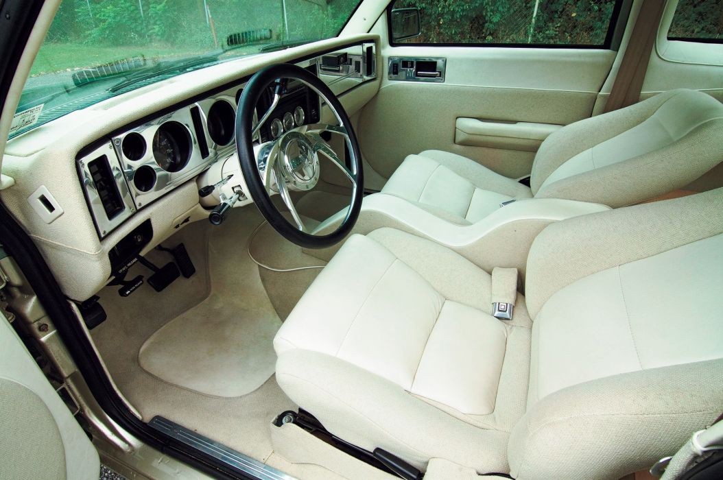 1985 Chevrolet Chevy Pickup S10 Streetrodder Street Rod USA -04 wallpaper