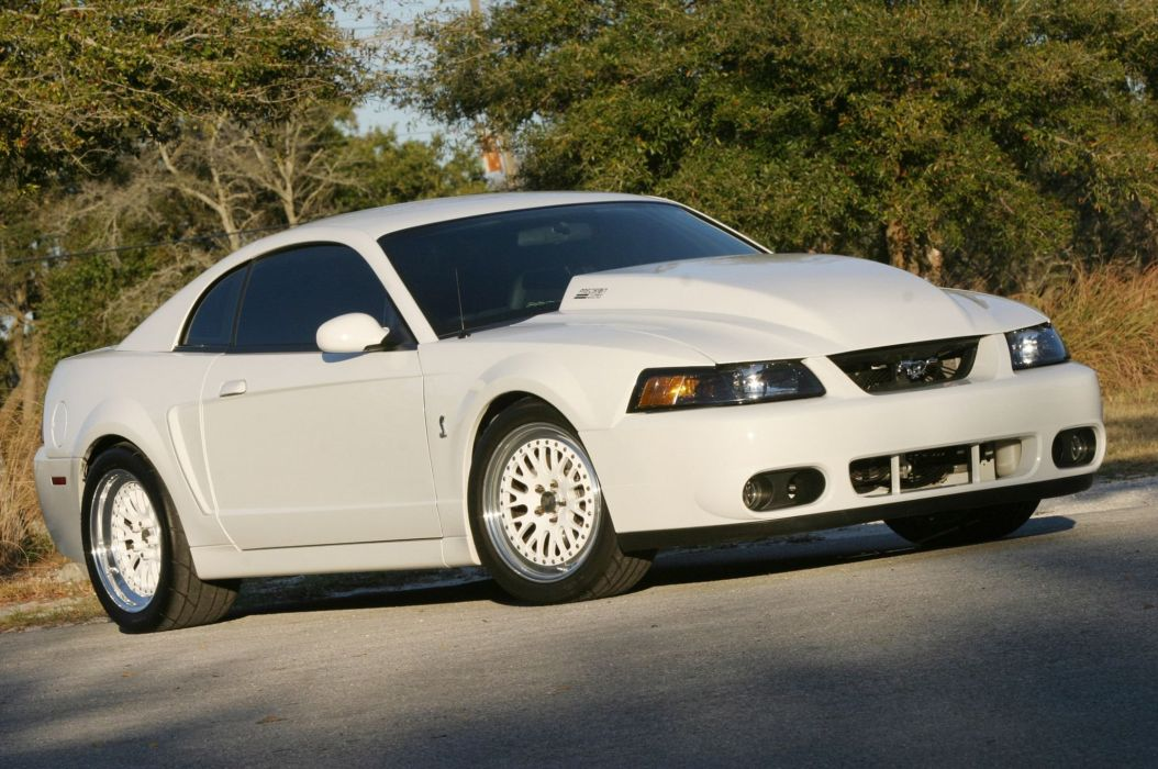 2003 Ford Mustang Cobra GT Pro Touring Super Street Car USA -01 wallpaper
