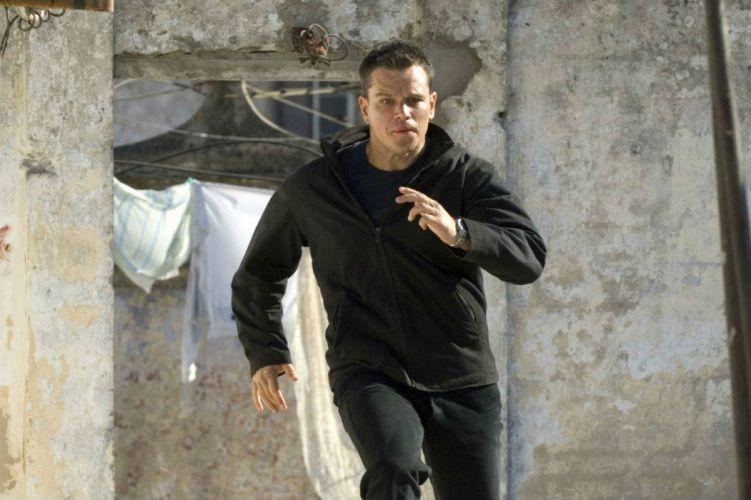 BOURNE Matt Damon action spy crime fighting thriller wallpaper