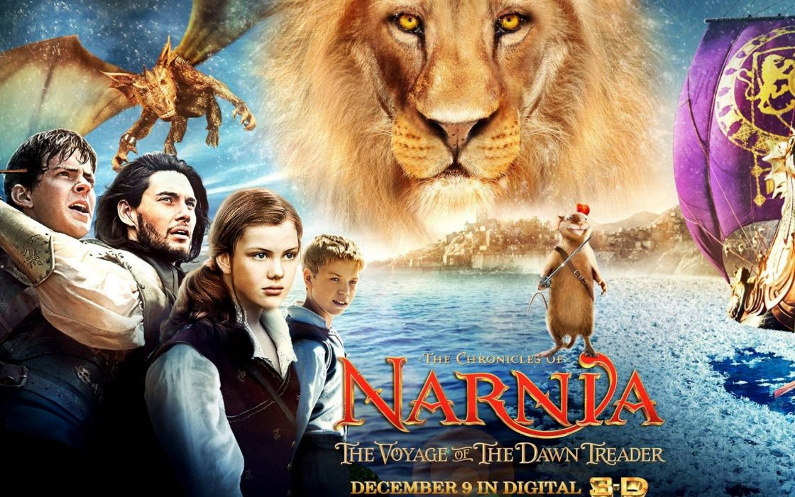 NARNIA adventure fantasy series book disney chronicles poster wallpaper
