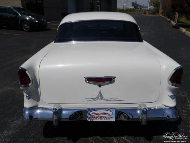 1955 Chevrolet Chevy 210 Belair Bel Air Hardtop Streetrod Street Rod Cruiser USA -18 wallpaper