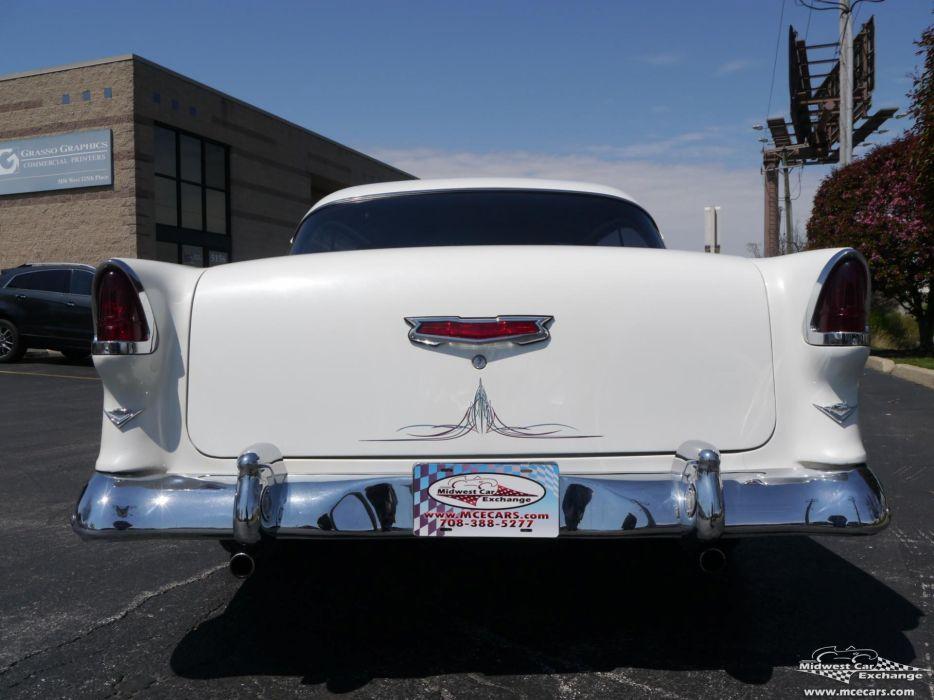 1955 Chevrolet Chevy 210 Belair Bel Air Hardtop Streetrod Street Rod Cruiser USA -19 wallpaper