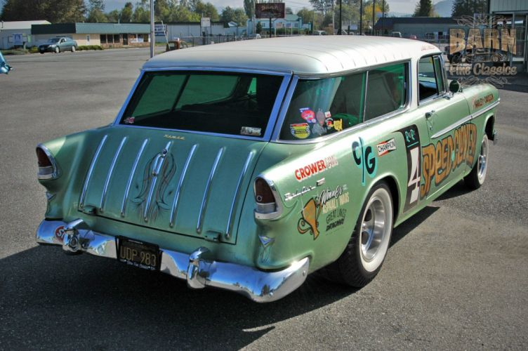 1955 Chevrolet Chevy Nomad BelAir Gasser Pro Stocl Drag Dragster Race Racing Vintage USA 1500x1000-07 wallpaper