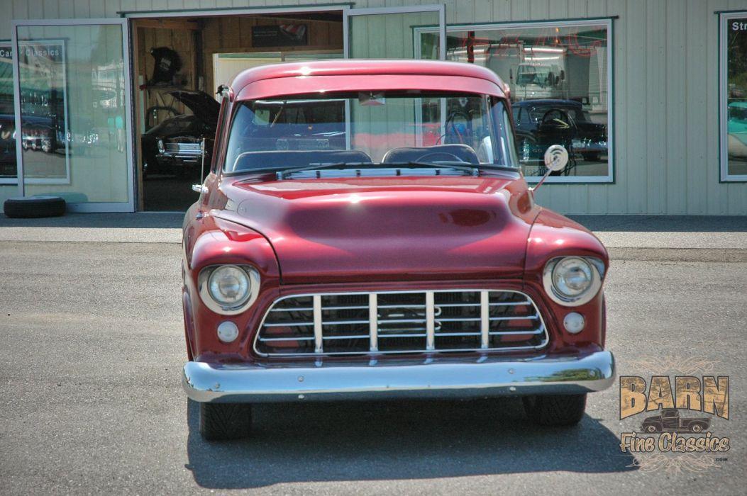 1955 Chevrolet Chevy Pickup Hotrod Streetrod Hot Rod Street USA 1500x1000-04 wallpaper