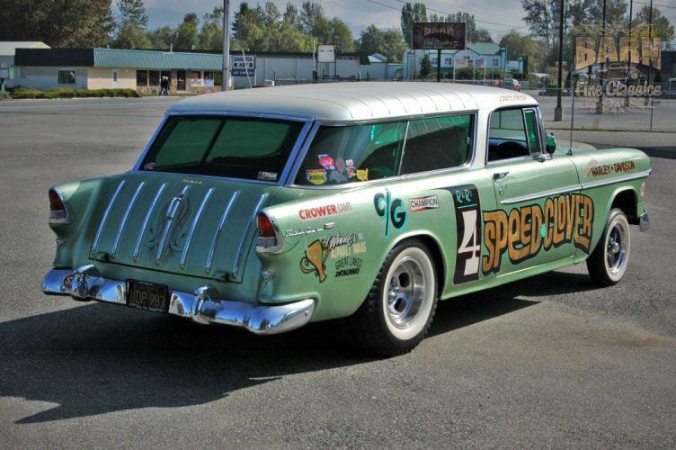1955 Chevrolet Nomad Bel Air Belair Gasser Drag Dragster Race Racing Pro Stock USA 1500x1000-07 wallpaper