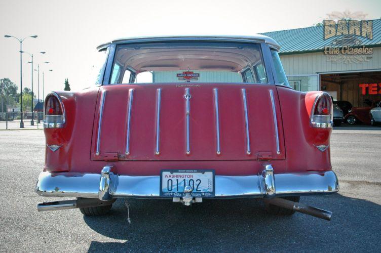 1955 Chevrolet Nomad BelAir Hotrod Streetrod Hot Rod Street USA 1500x1000-11 wallpaper