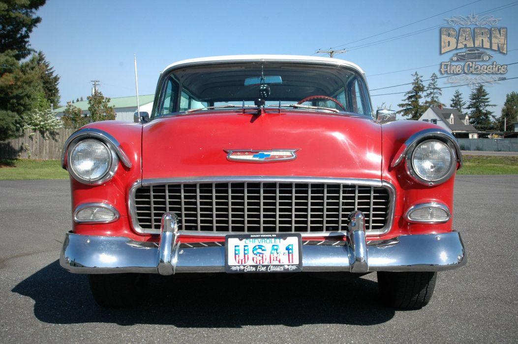 1955 Chevrolet Nomad BelAir Hotrod Streetrod Hot Rod Street USA 1500x1000-15 wallpaper