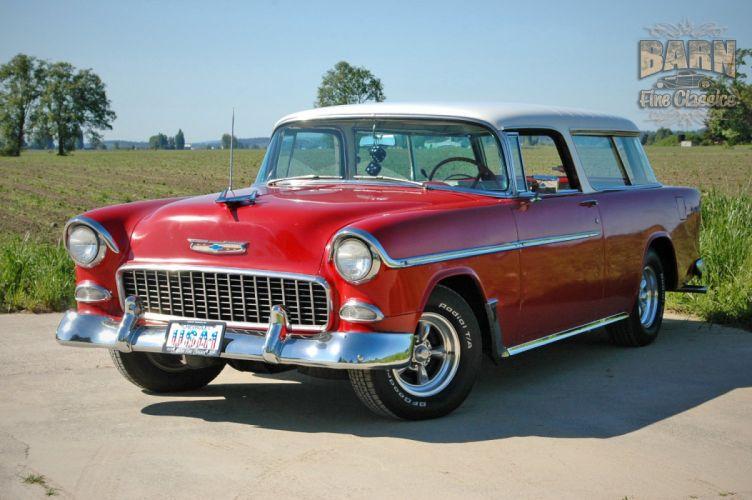 1955 Chevrolet Nomad BelAir Hotrod Streetrod Hot Rod Street USA 1500x1000-16 wallpaper