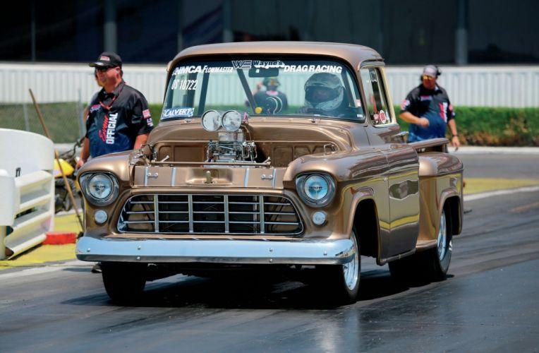 1955 Chevrolet Pickup Stepside Drag Dragster+Race Racing USA 2048x1340-01 wallpaper