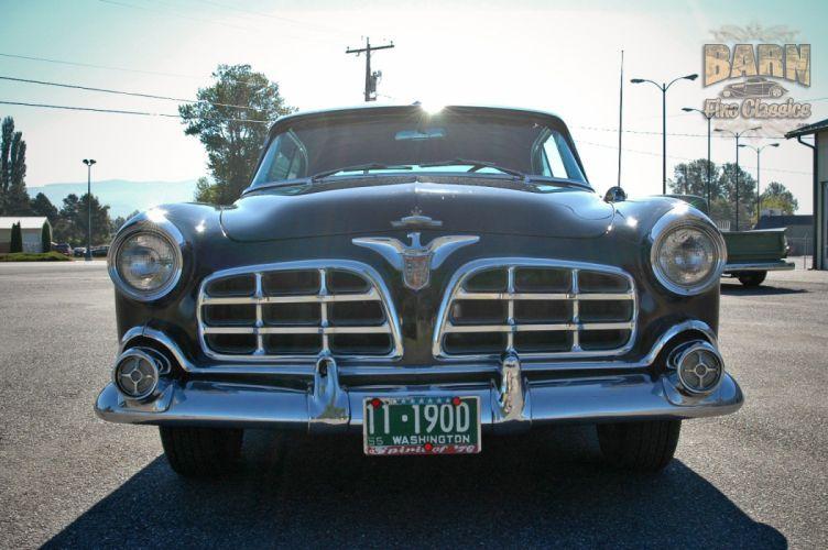 1955 Chrysler Imperial Newport Hardtop Classic Old Vintage Retro USA-1500x1000-19 wallpaper