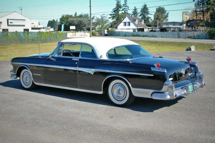 1955 Chrysler Imperial Newport Hardtop Classic Old Vintage Retro USA-1500x1000-20 wallpaper