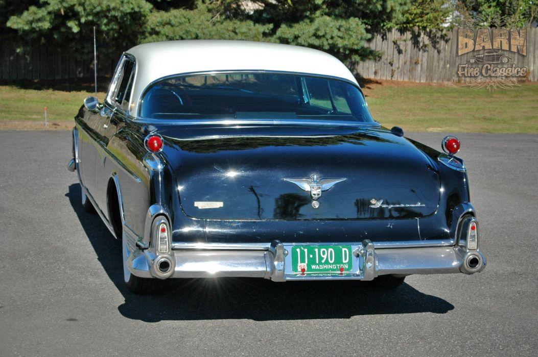 1955 Chrysler Imperial Newport Hardtop Classic Old Vintage Retro USA-1500x1000-22 wallpaper