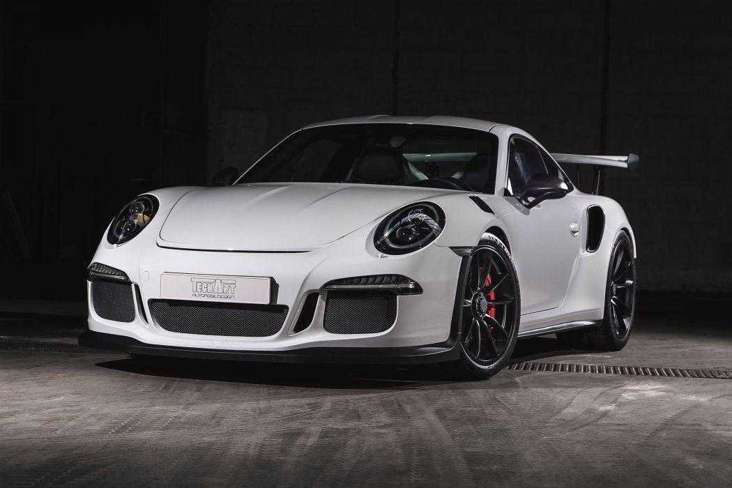 2016 cars TECHART Porsche 911 GT3 RS Carbon Sport Package wallpaper