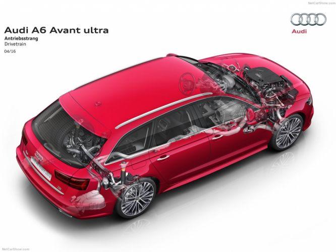 Audi A6 wagon cars 2016 cutaway wallpaper