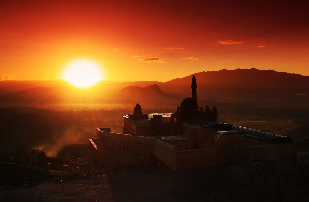 landscape sunset turkey manzara aA wallpaper