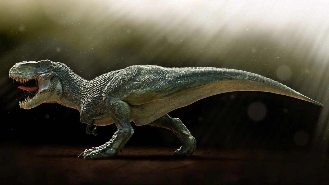 tyranosaurio rex reptil dinosaurio animales wallpaper