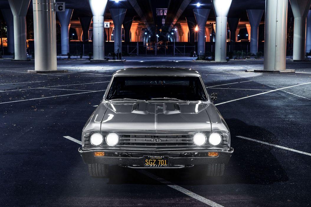 1967 Chevrolet Chevy Chevelle Pro Touring Super Car USA -03 wallpaper
