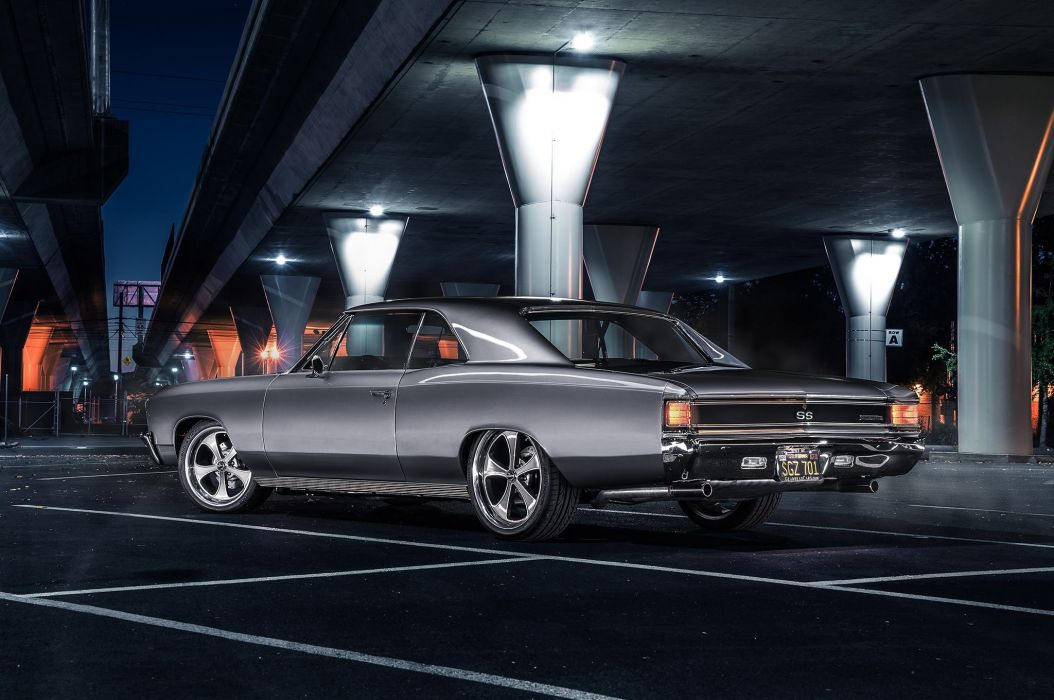 1967 Chevrolet Chevy Chevelle Pro Touring Super Car USA -07 wallpaper