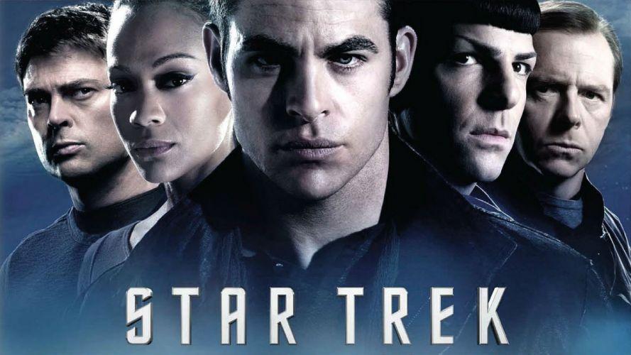 STAR TREK sci-fi action futuristic disney space spaceship poster wallpaper