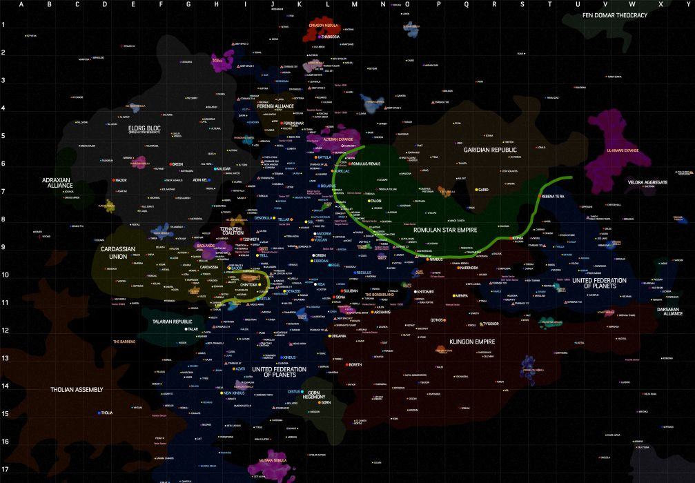 Star Trek Sci Fi Action Futuristic Disney Space Spaceship Poster Map
