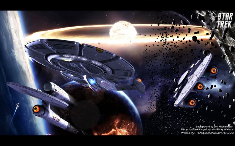 STAR TREK sci-fi action futuristic disney space spaceship poster wallpaper