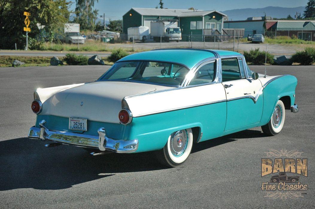 1955 Ford Fairlane Crown Victoria Classic Old Vintage Original USA 1500x1000-02 wallpaper