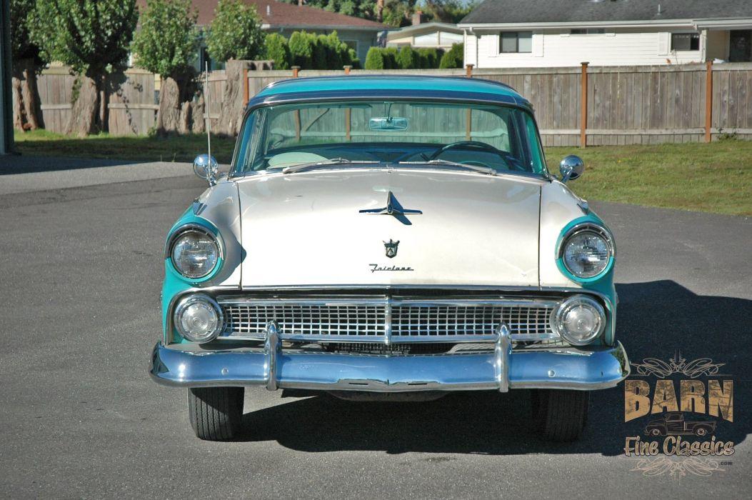 1955 Ford Fairlane Crown Victoria Classic Old Vintage Original USA 1500x1000-06 wallpaper