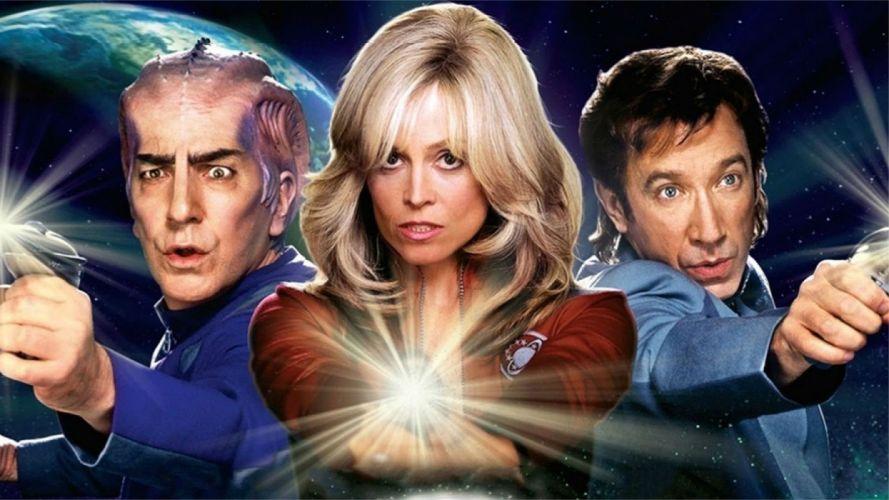 GALAXY QUEST space opera television series sci-fi futuristic spaceship 1quest adventure comedy wallpaper