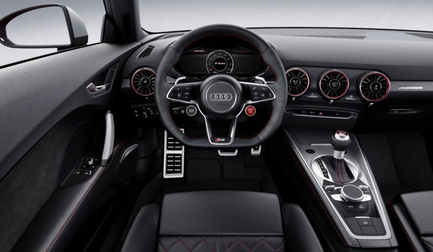 2016 Audi TT RS Roadster Coupe cars red wallpaper