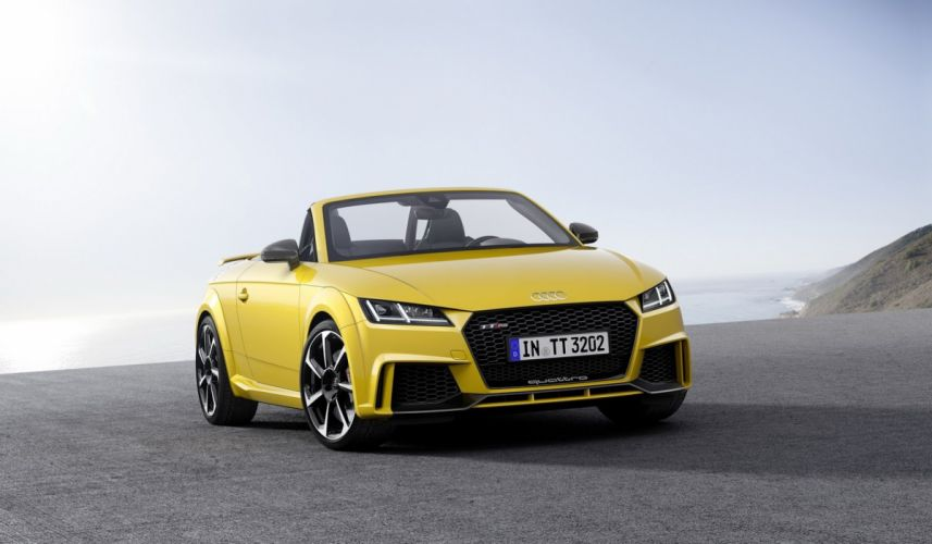 2016 Audi TT RS Roadster Roadster cars yelloh wallpaper