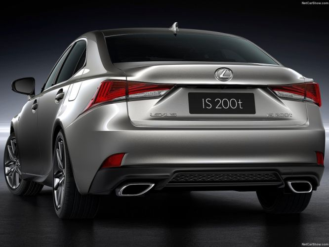 2016 Lexus IS sedan cars wallpaper
