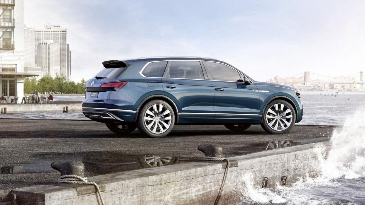 Volkswagen T-Prime Concept GTE cars suv wallpaper