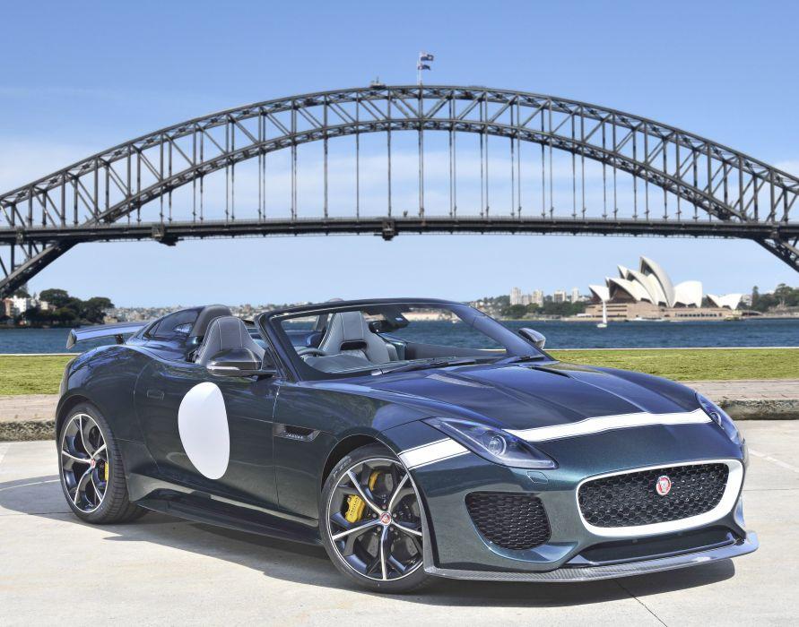Jaguar F-Type Project 7 AU-spec cars roadster 2015 wallpaper