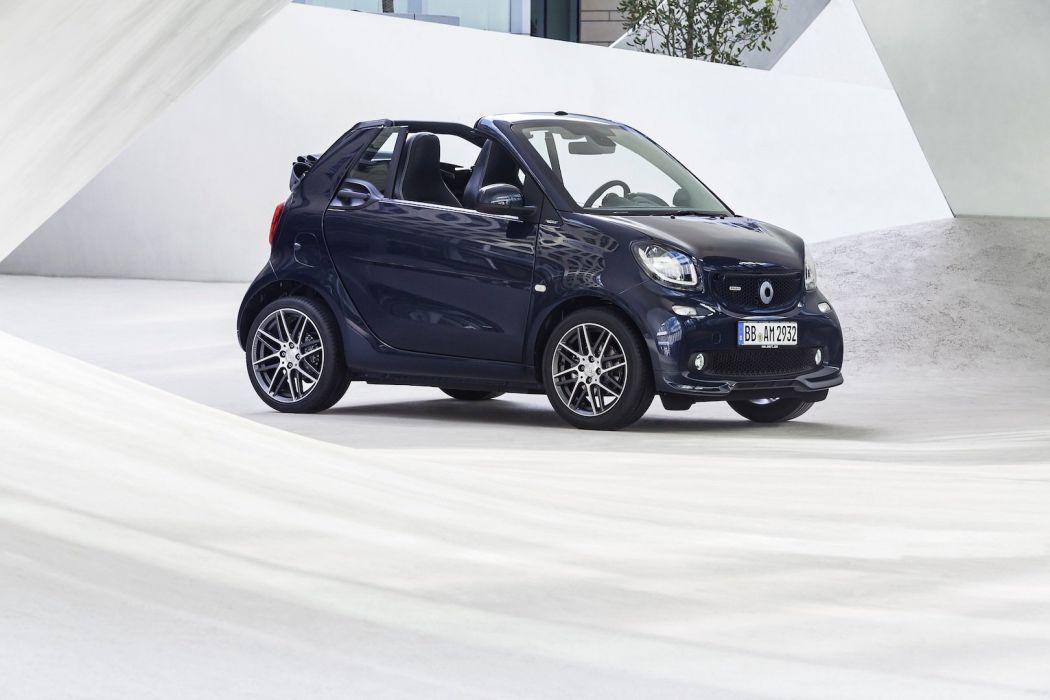 smart BRABUS cars Xclusive modified 2016 wallpaper