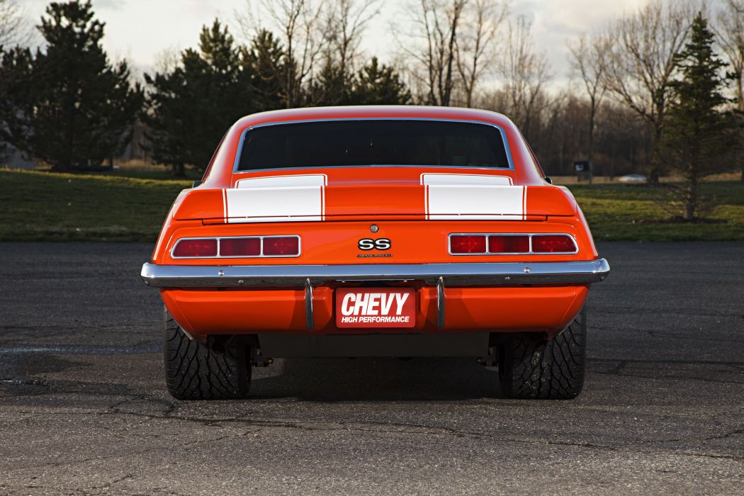Supercharged 1969 chevy chevrolet Camaro cars coupe classic wallpaper