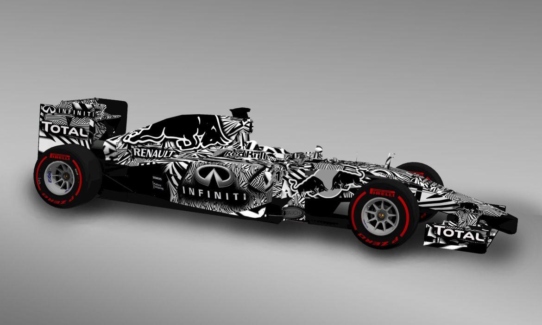 Red Bull 2014 Dazzle Camo Formula 1 wallpaper