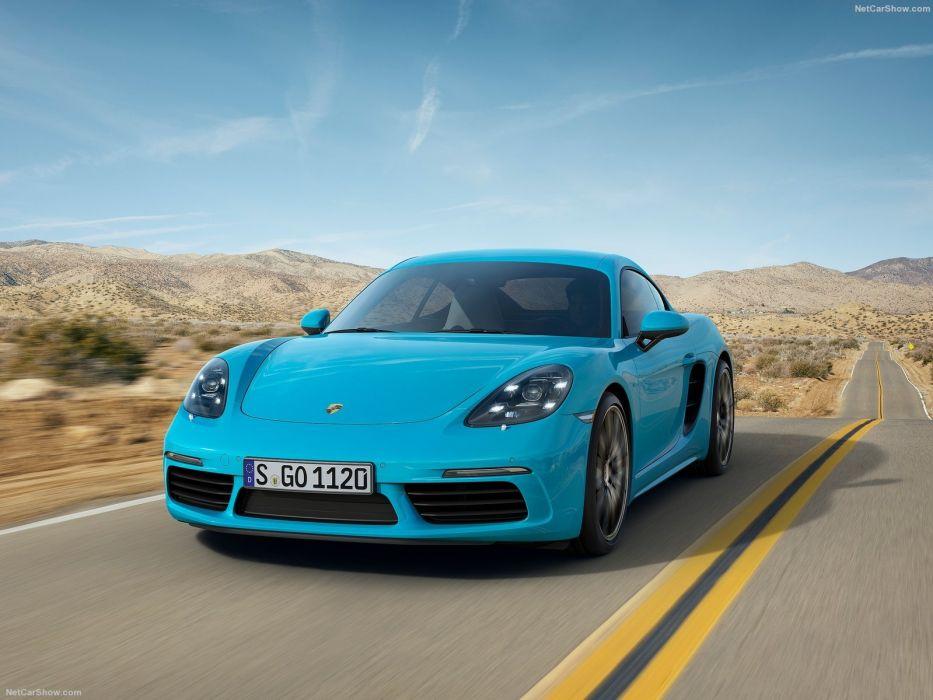2016 Porsche 718 Cayman cars coupe wallpaper