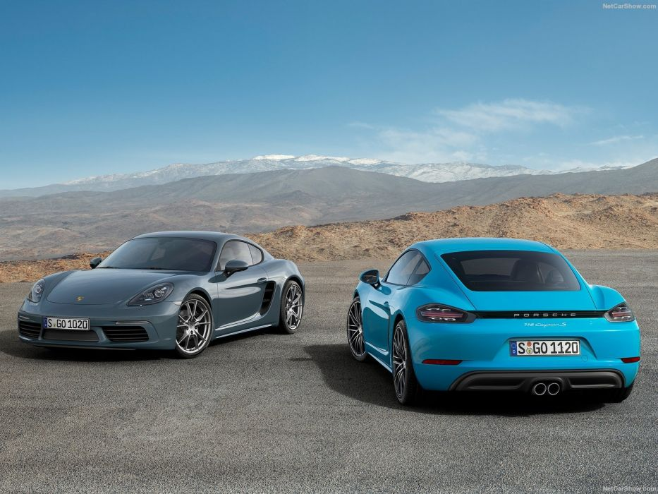 2016 Porsche 718 Cayman cars coupe wallpaper
