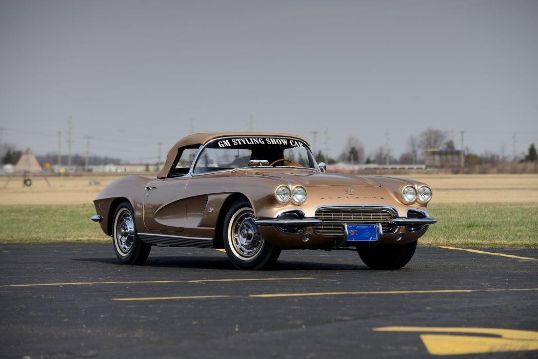 1962 Chevrolet Corvette GM Styling Show (C1) cars classic wallpaper