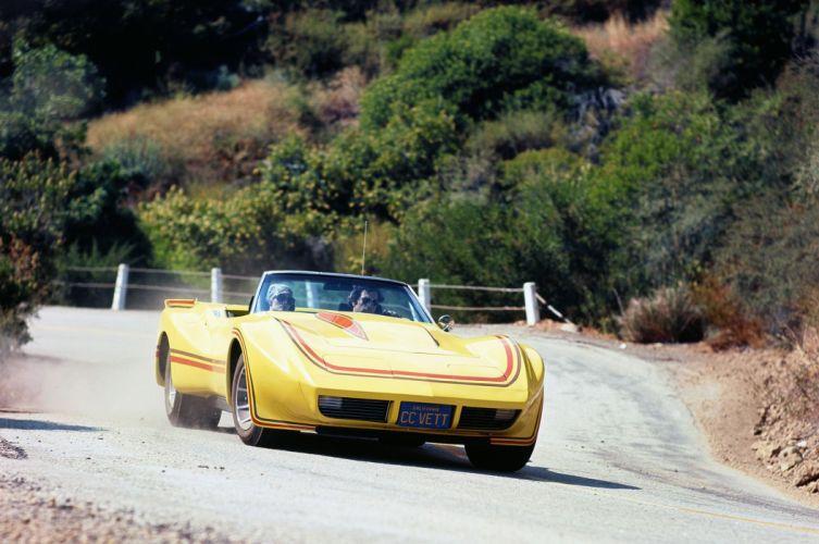 1968 Chevrolet Corvette 'Big Banana (C3) cars classic wallpaper