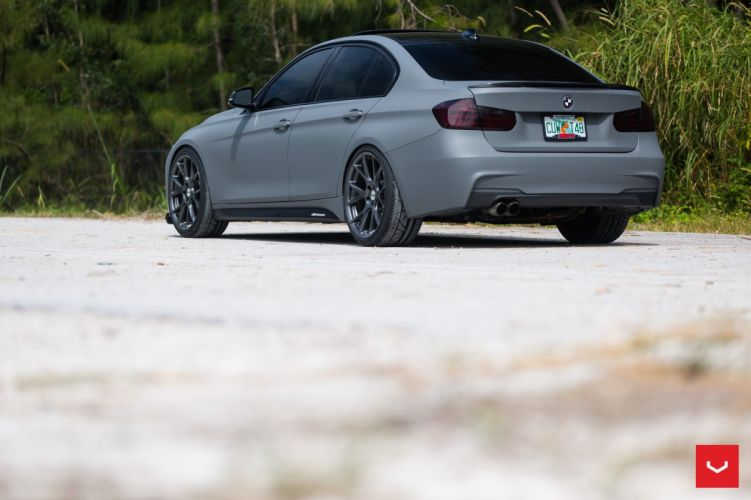 BMW 3-Series coupe cars vossen wheels wallpaper