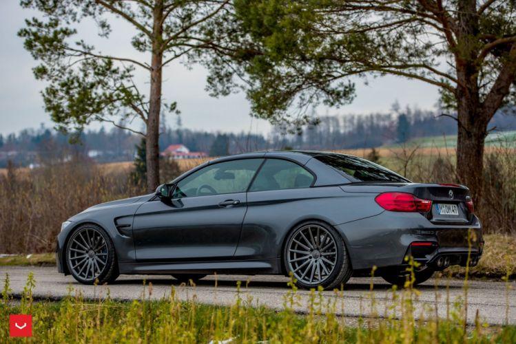 BMW M4 convertible cars vossen wheels wallpaper
