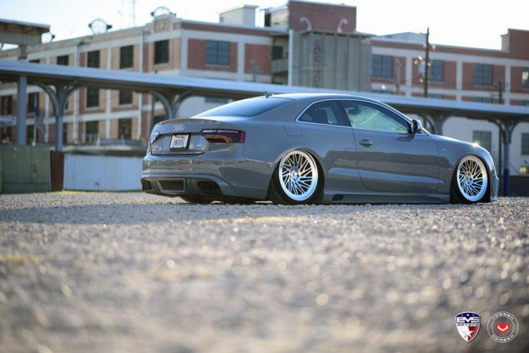 Audi S5 coupe cars vossen wheels wallpaper