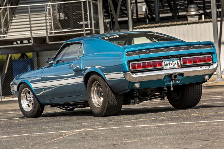 1969 Ford Mustang Shelby GT-500 Drag Race Pro Stock Dragstaer USA -03 wallpaper