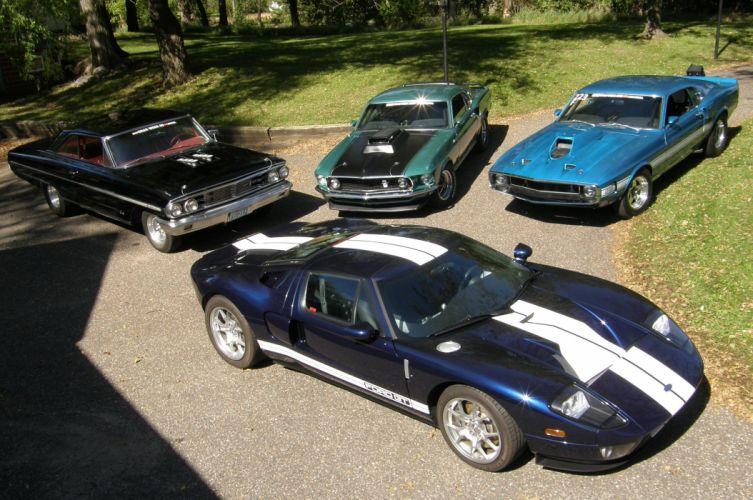 1969 Ford Mustang Shelby GT-500 Drag Race Pro Stock Dragstaer USA -08 wallpaper
