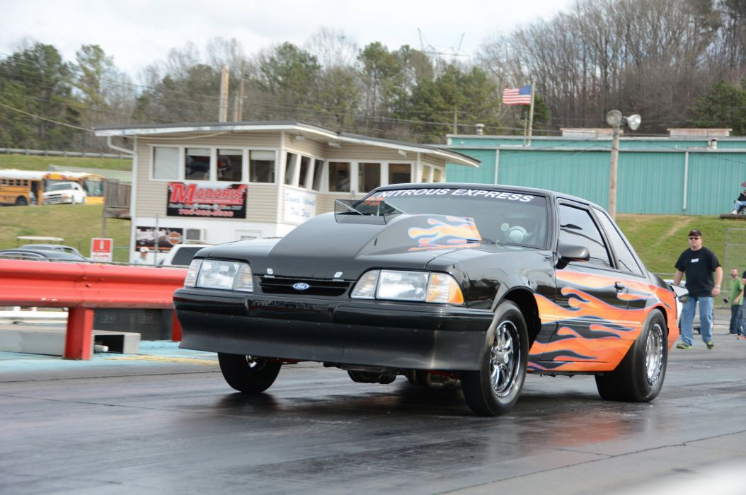 1993 Ford Mustang GT Outlaw Drag Dragster Race Pro Stock USA -02 wallpaper