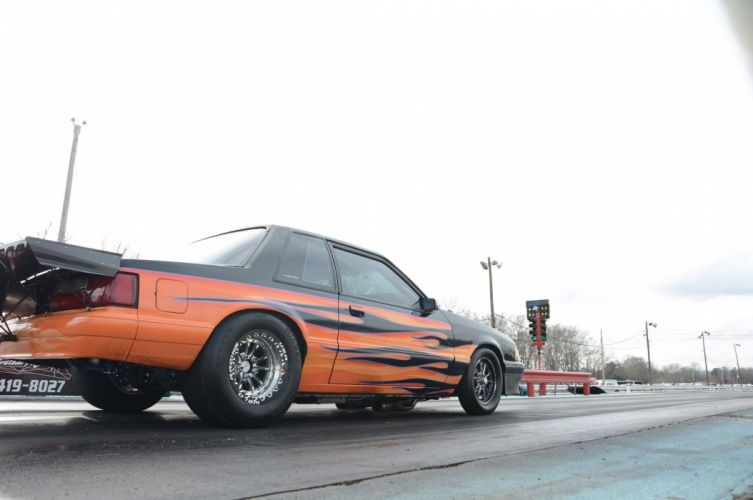 1993 Ford Mustang GT Outlaw Drag Dragster Race Pro Stock USA -07 wallpaper