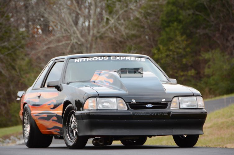 1993 Ford Mustang GT Outlaw Drag Dragster Race Pro Stock USA -11 wallpaper