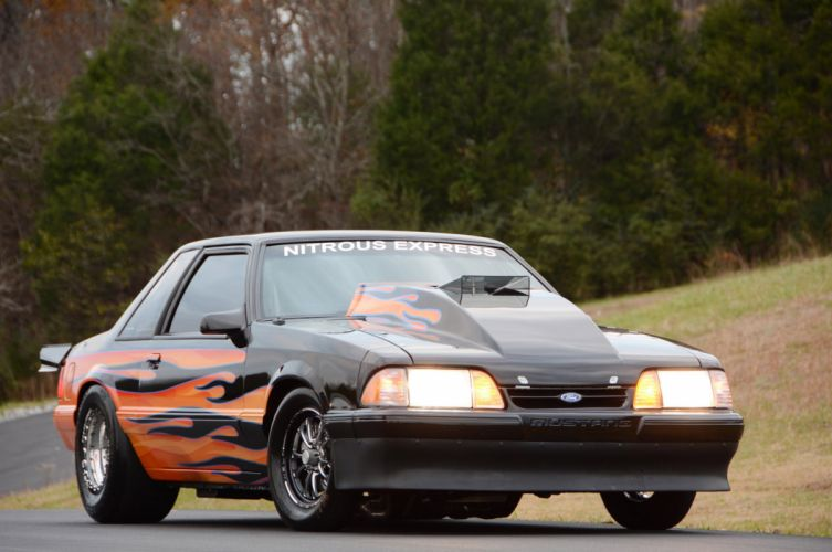 1993 Ford Mustang GT Outlaw Drag Dragster Race Pro Stock USA -12 wallpaper
