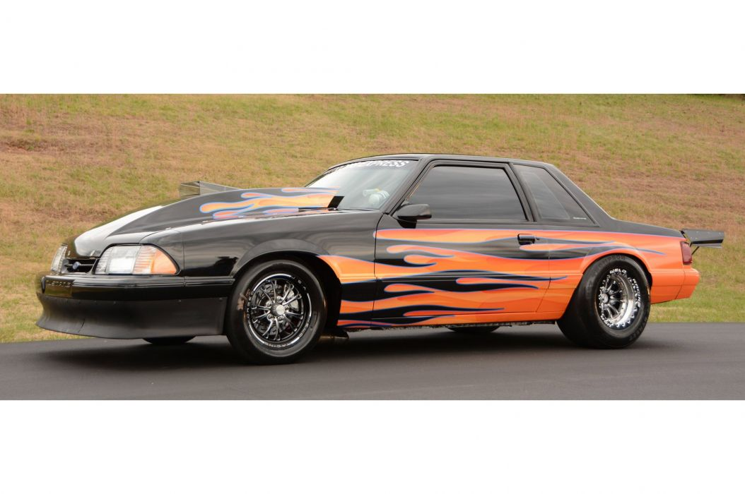 1993 Ford Mustang GT Outlaw Drag Dragster Race Pro Stock USA -13 wallpaper